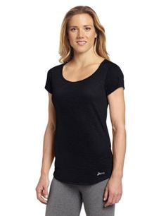 Asics Women's PR Slub Short Sleeve Top, X-Small, Black ASICS http://www.amazon.com/dp/B0099FQLAU/ref=cm_sw_r_pi_dp_Kq8cub1D450EG