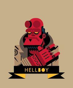 Heróis de vetores, por Beto Garza | Designerd