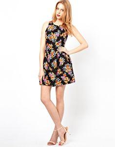 Image 4 ofLove Floral Print Tulip Dress
