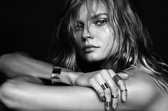 visual optimism; fashion editorials, shows, campaigns & more!: magdalena frackowiak jewelry: magdalena frackowiak by alique for models.com!