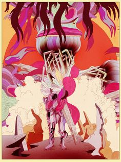 Creative illustrations by Kilian Eng