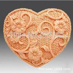 Сладкое в форме сердца 3D силиконовые мыло формы фондант торт шоколад формы для кухни торт украшение Sugarcraft FM177