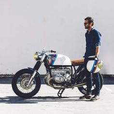 Californian bravado, German cool—Untitled Motorcycles' custom BMW R100.