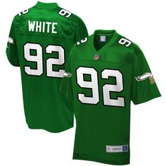 Browns Myles Garrett 95 jersey Reggie White Philadelphia Eagles NFL Pro  Line Retired Player Jersey - Green 2f362108f