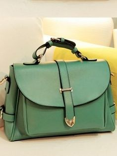Beautiful Vintage Style Green Fashion Bag LOVE this site, everything is so cheap.