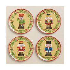 Cost Plus World Market Melamine Nutcracker Plates ($7.96) ? liked on Polyvore featuring home  sc 1 st  Pinterest & Christmas ~ Christian  Nativity ~ Holy Family ~ Madonna u0026 Child ...