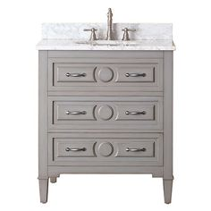 Kelly Grayish Blue 30 Inch Vanity Only Avanity Vanities Bathroom Vanities Bathroom Furnitu
