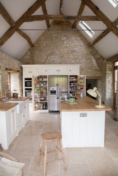 Traditional #country #kitchen - #attic