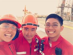 Chemical Engineers  Mechanical Engineer. :) #offshore #offshorelife #selfie by doped_peter