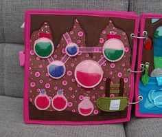 Fairybook  1 Quiet book page Fairy Dust Factory PATTERN &