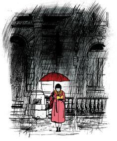 Illustration by Jillian Tamaki for The Atlantic Monthly