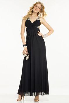 V line evening dress 6409