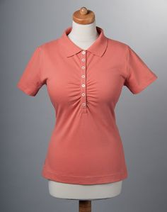 Polo shirt for women with large bust...this is a perfect style for the busty girl