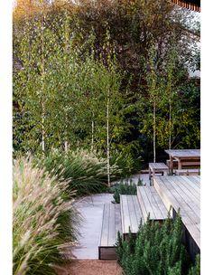 Modern Landscape Design, Garden Landscape Design, Modern Landscaping, Backyard Landscaping, Landscaping Ideas, Modern Garden Design, Farmhouse Garden, Garden Cottage, Lush Garden