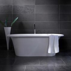 1000 images about lux bathrooms on pinterest concrete for Charcoal grey bathroom accessories