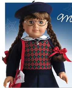 Molly was my daughter's first American Girl doll and set of books...she wanted Molly because she wore glasses and her grandmother (my mom) was a year younger than Molly during World War II