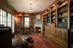 Traditional Home Office - Found on Zillow Digs