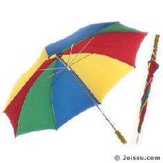 RAINBOW GOLF UMBRELLAS. Comfortable grip handle. Each polybagged.  Size 48 Inches (Open)