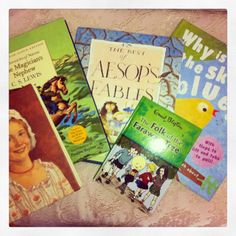 Great thrifting finds - children's books  www.lovedecorateletters.blogspot.com.au
