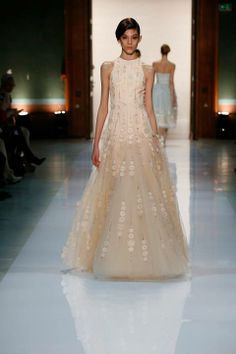 Silence is Golden - GEORGES HOBEIKA Couture SS 2014