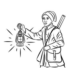 womens rights coloring pages free colouring pagesharriet tubmansketch