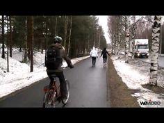 Pyöräily opetusvideo (3:27).