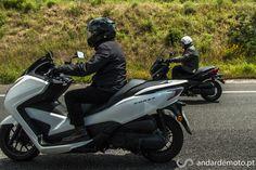 Honda Forza 300 e Yamaha X-Max 250
