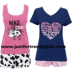 teen pajamas 16- would love the tops for summer pjs!!!   .clothes ...