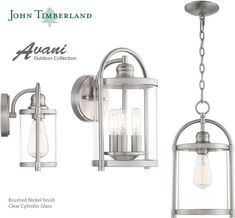 John Timberland Avani Outdoor Collection Lantern Post, Wall Lantern, Glass Cages, Transitional Lighting, Bronze Patina, Wall Lights, Ceiling Lights, Vintage Iron, Hanging Lanterns