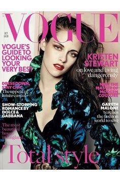 Kristen Stewart Vogue Cover October 2012 (Vogue.com UK)