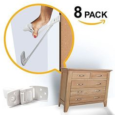 Ellas Furniture and TV Anti Tip Straps | Adjustable Earthquake Resistant Best