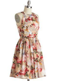 Prized Perennials Dress, #ModCloth