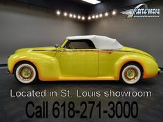 1940 Mercury Convertible   - Stock #5538-STL