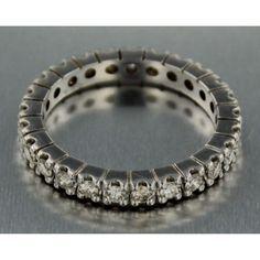 Catawiki pagina online de subastas white gold alliance ring with brilliant cut diamond