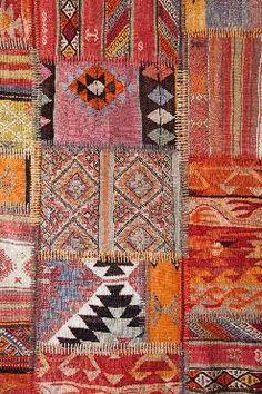 Karpet Kelim Patchwork