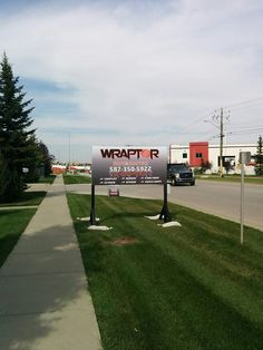Visibility is one of the main keys in business! :) Visit us at our Shop 40 St SE, and check out our new product Exterior Signage, Interior And Exterior, Pylon Sign, Channel Letters, Billboard Signs, Window Graphics, Business Signs, Car Wrap, Calgary