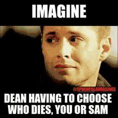 Imagine - Dean + mini story - Please Forgive Me - #cryingchallenge ...