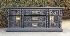 CUSTOM Hollywood Regency Dressers Painted to by theHouseofWillow, $350.00