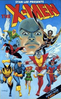 Cover for Marvel Illustrated Books' X-Men volume, 1982. Art by Dave Cockrum.