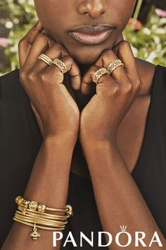 Introducing PANDORA Shine A new collection of 18ct gold-plated sterling silver jewellery.