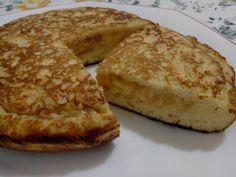 Una tortilla de patata en la que la patata se sustituye por pan de molde. ¡Sorprendente!