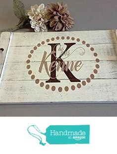 Wood Pallet Tray from Rusticly Inspired Signs