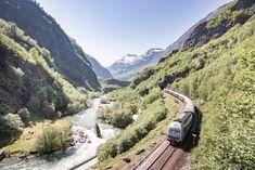13 bilder som inspirerer til ferie på Vestlandet | Visit Flåm Lonely Planet, Train Route, By Train, Zermatt, Bergen, Oslo, Saint Moritz, Visit Norway, Fjord