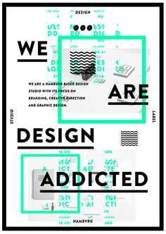 We are design addicted