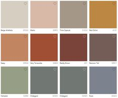 It's true! Dulux has used words such as Kinship and Essential to name their collection of colours for 2018 released in It's such powerful stuff. Orange Color Schemes, Burnt Orange Color, Color Trends 2018, 2018 Color, Bedroom Wall Colors, Bedroom Color Schemes, Ethnic Bedroom, Colour Consultant, Colour Pallete