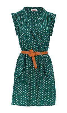 Louche Zaza Crayon Print Dress | WOMENSWEAR. I don't know why but I seriously love this dress.