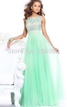 Find More Evening Dresses Information about Discount Unique Style Long Evening Dresses Chiffon Floor Length Prom Gown Dress Cheap Free Shipping ,High Quality dresses lot,China dress surf Suppliers, Cheap dress heels from Anny Wang's store on Aliexpress.com