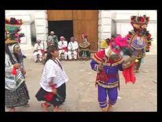 """Representación del """"Rabinal Achí"""", manifestación dramática prehispánica aun vigente entre los mayas"""