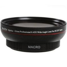 New Professional MASSA 62mm 0.45X Wide Angle Conversion Lens with Macro for DC DV+Lens Bag