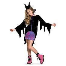 Sleeping Beauty Maleficent Halloween Costume - Tween